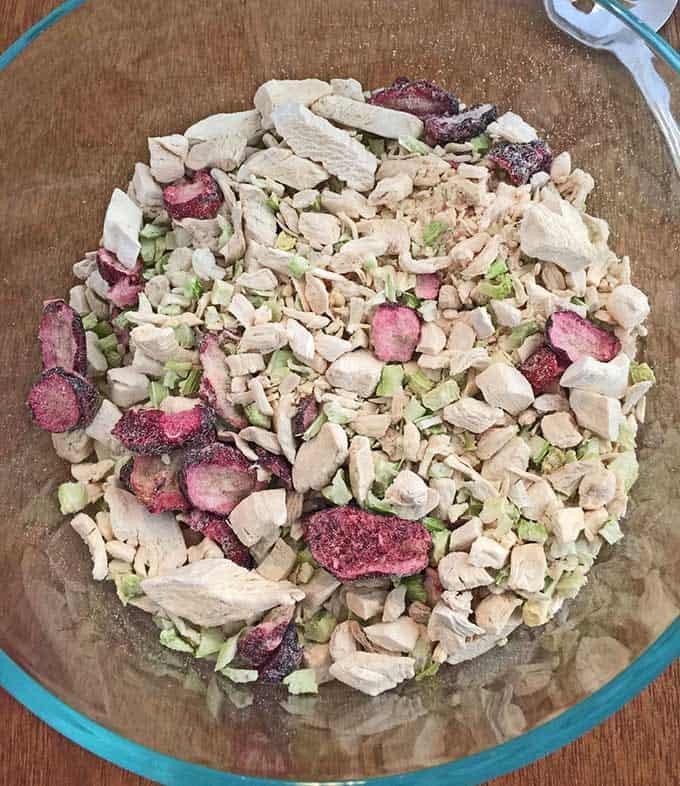 Quick Chicken Salad Dry