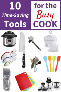 10 Time Saving Tools for the Busy Cook